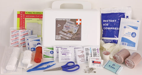 Elite First Aid FA114 General Purpose First Aid Kit - White