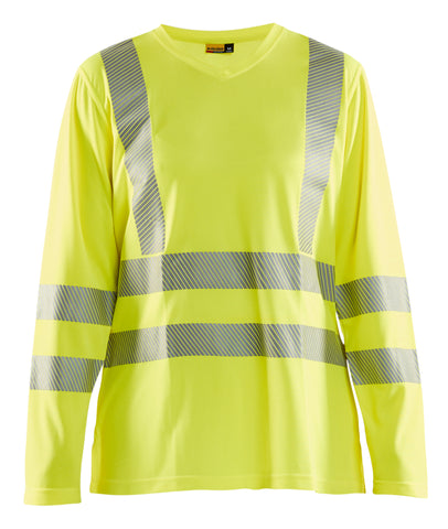 3497 1013 3300 WOMEN'S HI-VIS LONG SLEEVE T-SHIRT