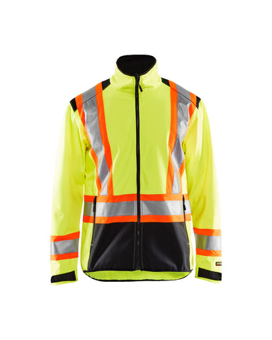 4975 2517 HI-VIS SOFTSHELL JACKET (CA)