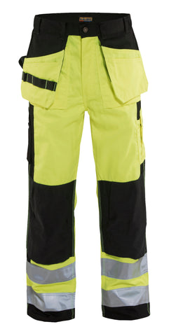 1633 1860  HI-VIS WORK PANTS