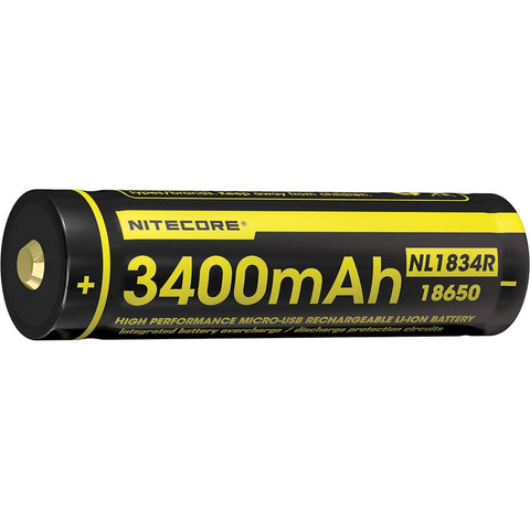 NL1834R 18650-Based Rechargeable Battery