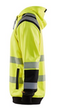 3446 1974  HI-VIS HOODED SWEATSHIRT