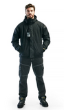 4797 1987  HOODED SHELL JACKET W/ STRETCH