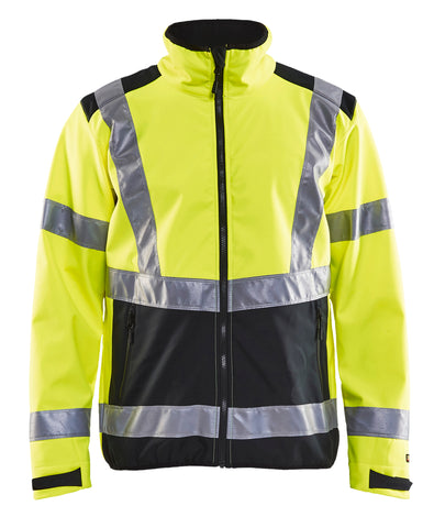 4977 2517  HI-VIS SOFTSHELL JACKET