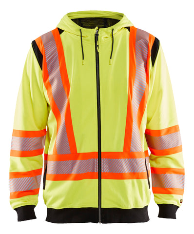 3448 1974  HI-VIS HOODED SWEATSHIRT (CA)