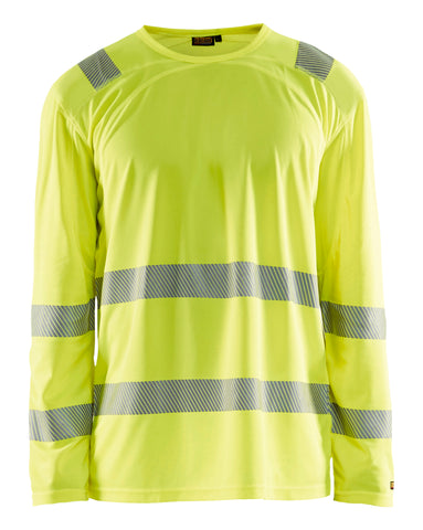 3488 1011  H-VIS LONG SLEEVE T-SHIRT