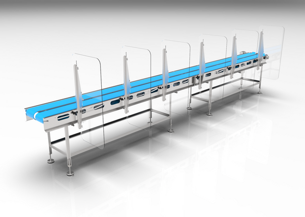 Kleen-Guard Conveyor PPE Barrier