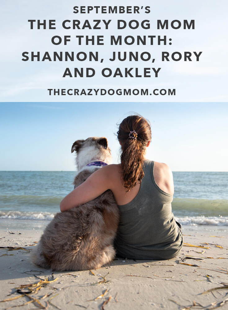 September's the crazy dog mom of the month