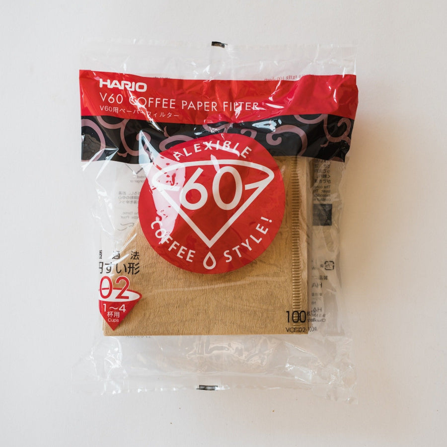 HARIO V60 FILTERS FOR THE 02 DRIPPER