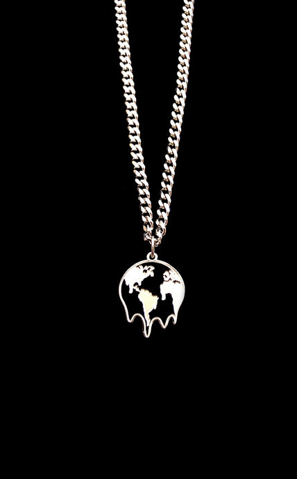 Melting Earth Necklace