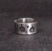 Load image into Gallery viewer, Devil Engraved Ring