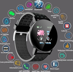 Montre intelligente Tracker de Fitness pour iOS et android