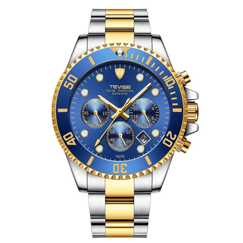 TEVISE Watches Men Luxury Brand Waterproof T823-GENERO