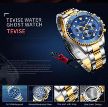 Charger l'image dans la galerie, TEVISE Watches Men Luxury Brand Waterproof T823