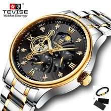 Charger l'image dans la galerie, TEVISE Automatic Mechanical Watch Men Stainless