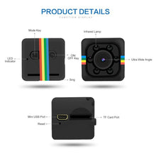 Charger l'image dans la galerie, Q11 Mini Camera Night Vision Car DVR Camera Wide Angle Camcorders