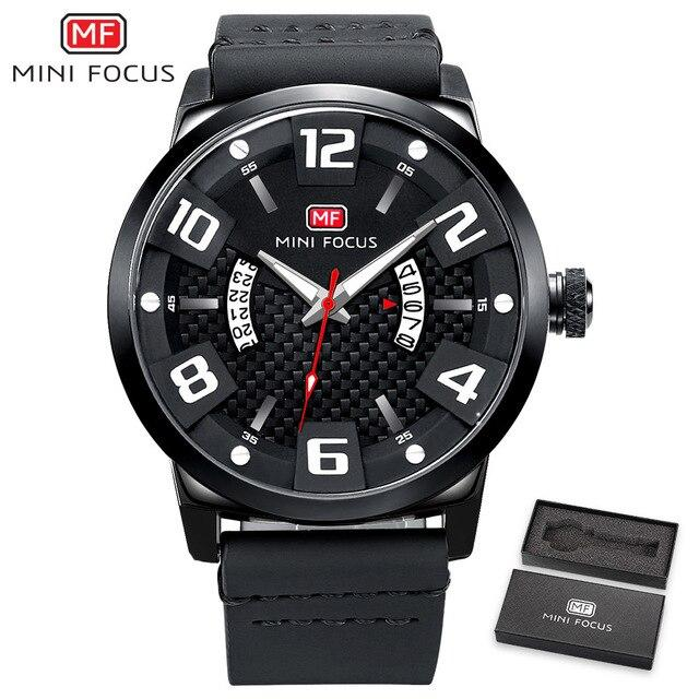 MINIFOCUS Luxury Brand Men Military Army Quartz Watch-GENERO