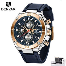 Charger l'image dans la galerie, 2020 Men's Watches Benyar 5129 Top Luxury Brand Watch Men