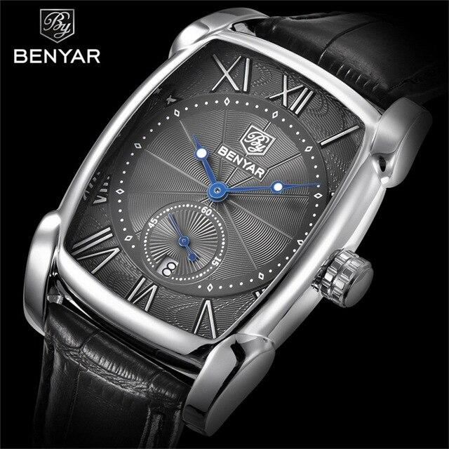 BENYAR Fashion Men's Watches Top Brand Men Wristwatch