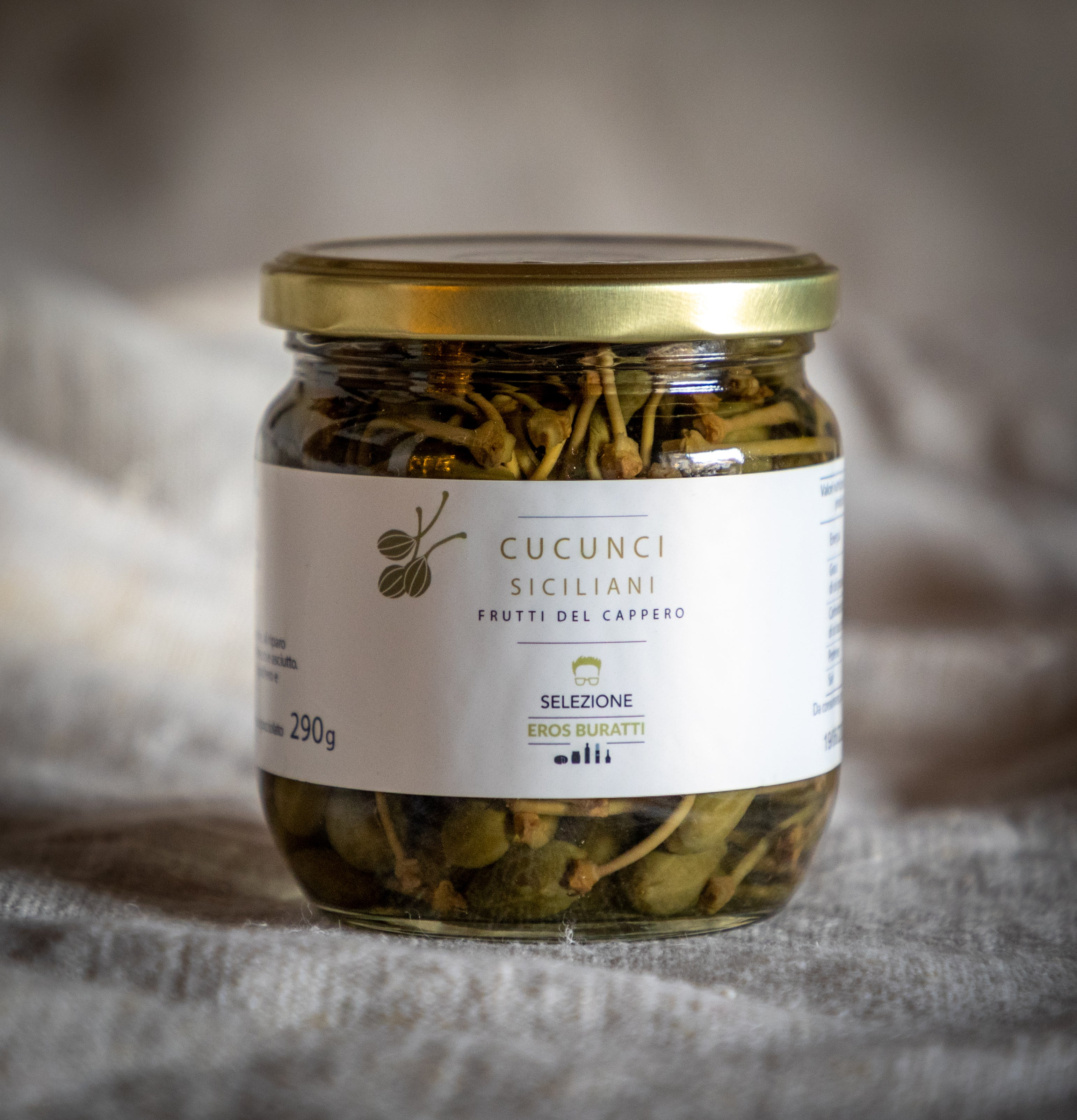 Cucunci Siciliani in aceto e sale 400GR