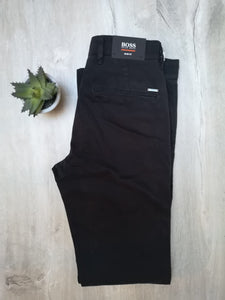 Pantalon chino Hugo Boss noir