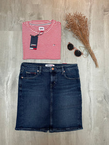 Jupe en denim Tommy Jeans