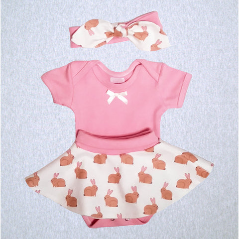 Bunnyland Bodyshirt, Skirt and Headband  #BYLO