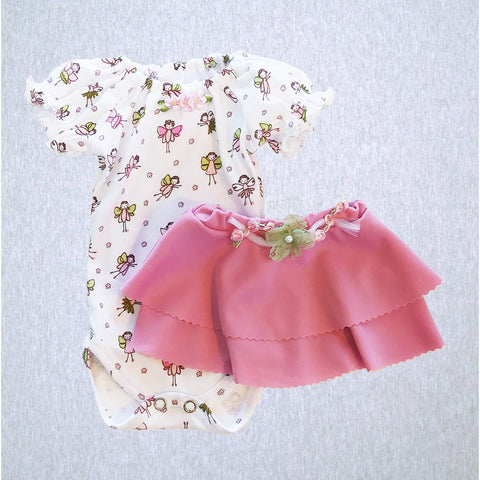 Fairy Bodyshirt and Skirt  #SFS