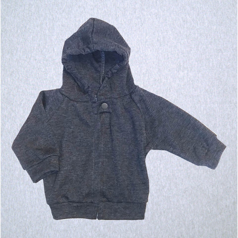 Jacket Grey Hooded #JKAM