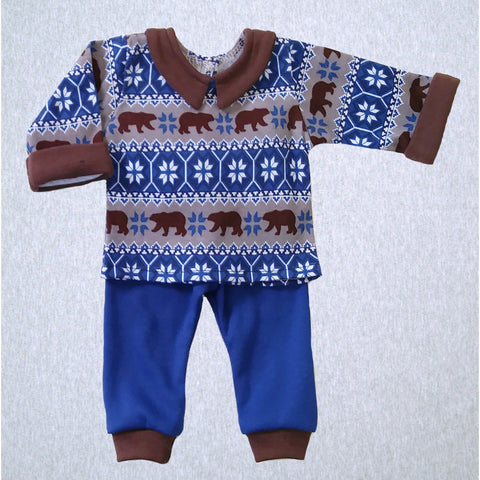 Winter Bears Shirt and Pant  #WBER