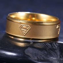 Load image into Gallery viewer, Superman Kryptonian Ring