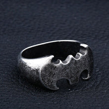 Load image into Gallery viewer, Batwan Steel Soldier Ring
