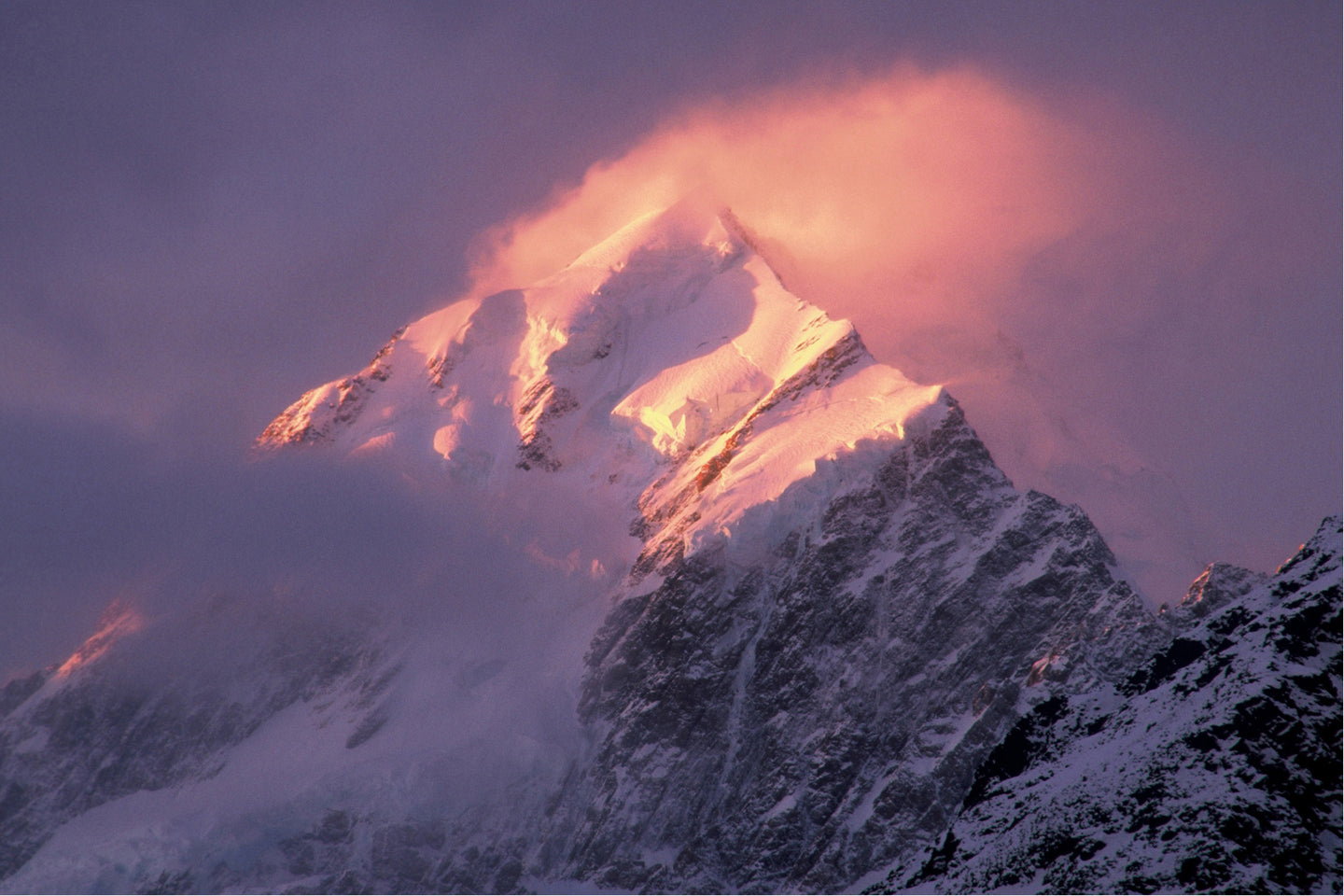 Sunset on Mt Cook - SMA126