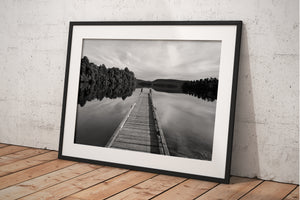Lake Mapourika Jetty - BWSM035