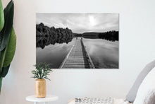 Load image into Gallery viewer, Lake Mapourika Jetty - BWSM035