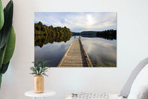 Lake Mapourika Jetty - SM035