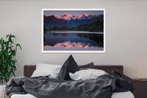Sunset at Lake Matheson - SM047