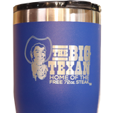 Big Texan 20 oz Tumbler - Blue - Big Texan Amarillo Food Take-Out & Delivery