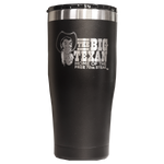 Big Texan 20 oz Tumbler - Black - Big Texan Amarillo Food Take-Out & Delivery