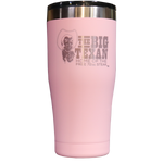 Big Texan 20 oz Tumbler - Pink - Big Texan Amarillo Food Take-Out & Delivery