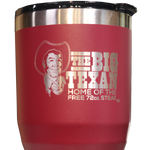 Big Texan 30 oz Tumbler - Red - Big Texan Amarillo Food Take-Out & Delivery
