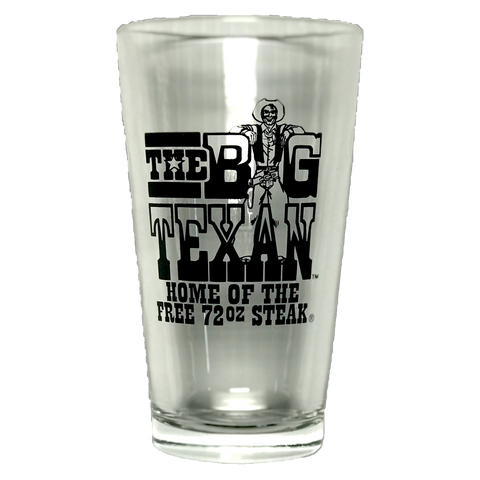 Big Texan Pint Glass