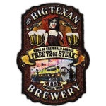 Big Texan Brewery Patch - Big Texan Amarillo Food Take-Out & Delivery