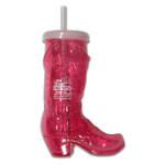 72oz Steak Challenge Boot Mug - Pink