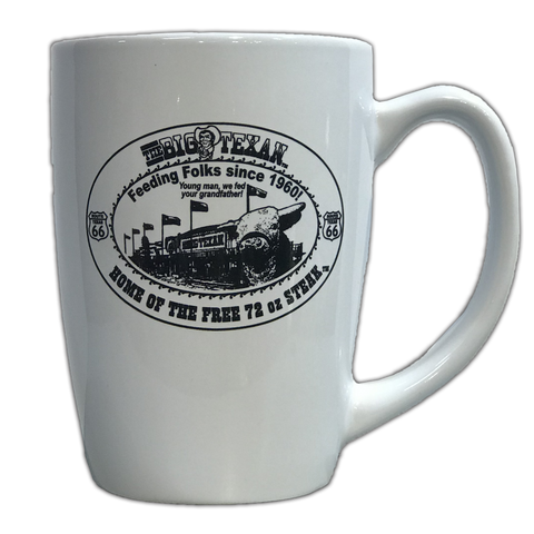 Big Texan Classic Coffee Mug - Tall - Big Texan Amarillo Food Take-Out & Delivery
