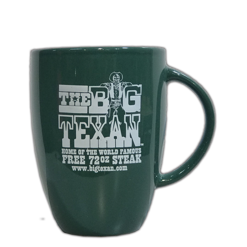 Big Texan Skinny Coffee Mug - Big Texan Amarillo Food Take-Out & Delivery