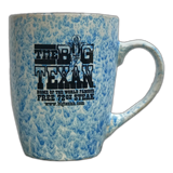 Big Texan Coffee Cup Unique Paint Pattern