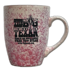 Big Texan Coffee Cup Unique Paint Pattern - Big Texan Amarillo Food Take-Out & Delivery