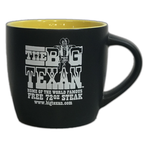 Big Texan Coffee Mug Dual Colors - Big Texan Amarillo Food Take-Out & Delivery
