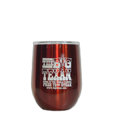 Big Texan Stainless Steel Wine Cup - Big Texan Amarillo Food Take-Out & Delivery